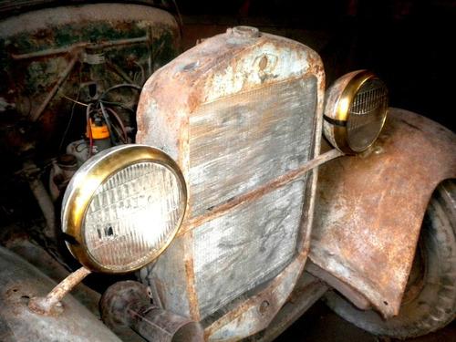 ford a 1929 camión volcador rareza | consulte !!!