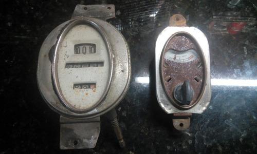 ford a velocímetro tacometro llave de luces y medidor temper