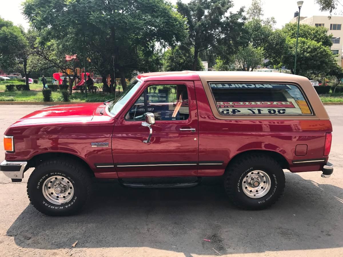 ford bronco 1988 automatica 161161impecable 119000 en