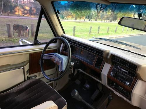 ford bronco ranger xlt 1980 motor mwm 6 cilindros tdi