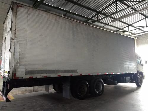 ford c2428 08/09 c/ baú de 9mts - r$ 90.000