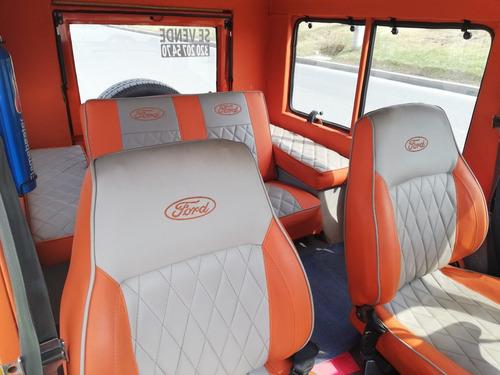 ford campero 4x4 cabinado, papeles e impuestos al día