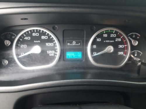 ford cargo 1119 trucado baú refrigerado porta gancheira