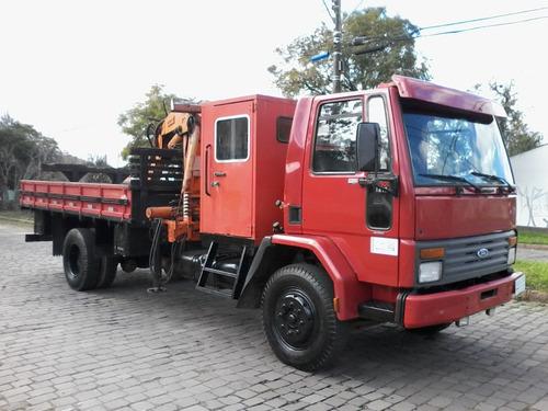 ford cargo 1215 rossatto caminhões