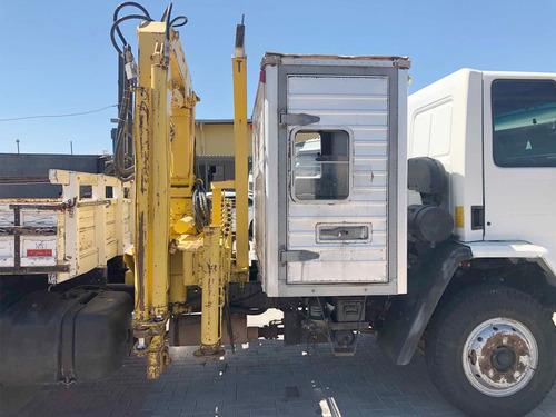 ford cargo 1317 2011 4x2 munck rodomaq 12 cabine auxiliar