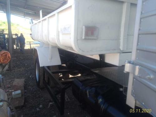 ford cargo 1317 basculante com cabine suplementar