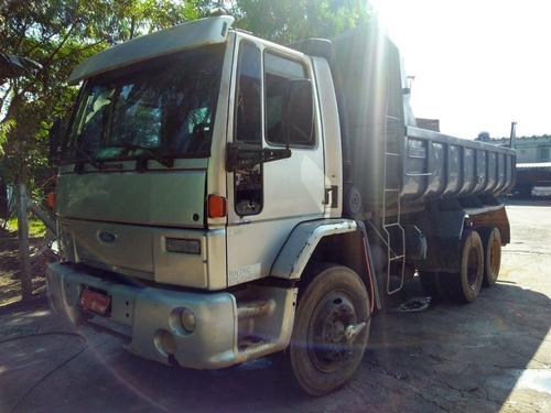 ford cargo 1317 caçamba 1º caminhão conseguimos liberar 50%
