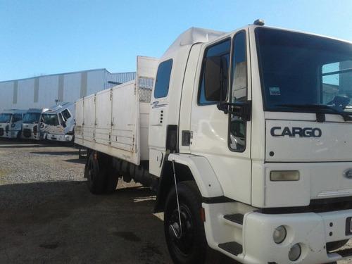 ford cargo 1317 chasis largo con carroceria y pala 2006