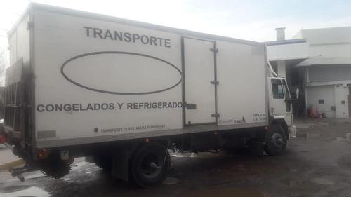 ford cargo 1317 furgon termico equipo de frio pala hidraulic
