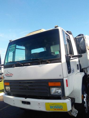 ford cargo 1415 c/ caçamba basculante 8mts² - 1999/1999