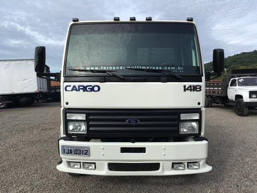 ford cargo 1418 caminhões