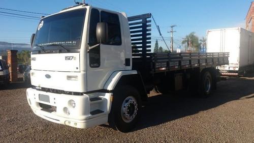 ford cargo 1517e - carroceria de 6.80m - fernando caminhões