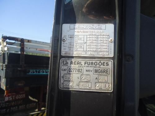 ford cargo 1519 bau 7 metros