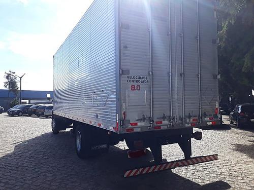 ford cargo 1717 e motor cummins baú 7,50 metros
