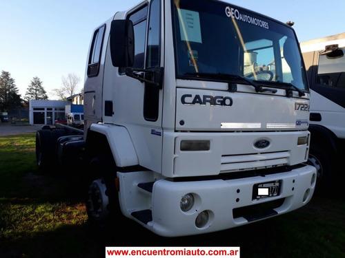 ford cargo 1722 43 ch largo entrega y cuotas  multicamju