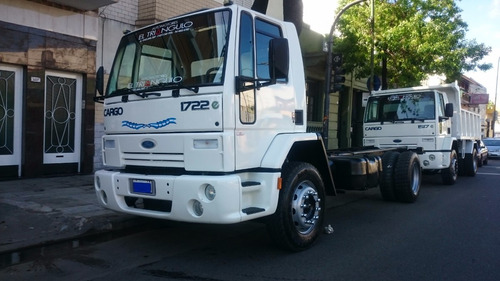ford cargo 1722 año 2008 chasis largo 6 metros unica mano
