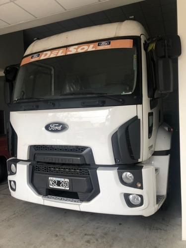 ford cargo 1722 cab dormitorio chasis 2014 pro seven!!