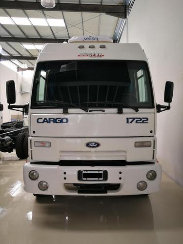 ford cargo 1722 cabina dormitorio modelo 2004