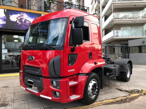 ford cargo 1722 cabina dormitorio tractor 2014 pro seven