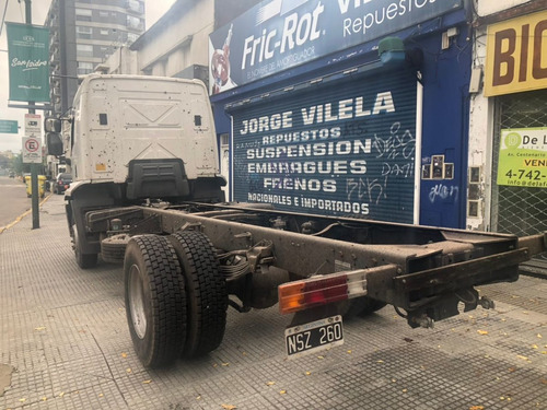 ford cargo 1722 chasis cab dormitorio año 2014 pro seven!!