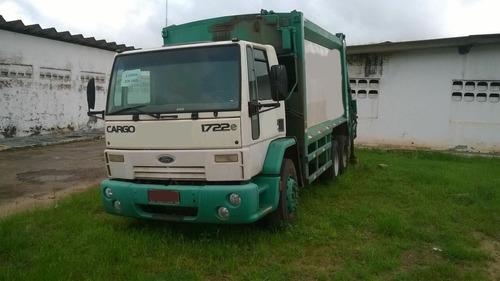ford cargo 1722 compactador de lixo ano 2009