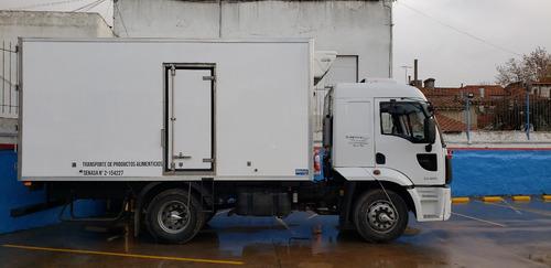 ford cargo 1722 con caja termica