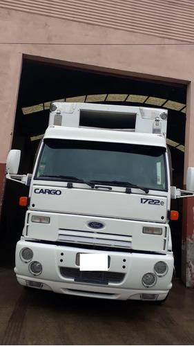 ford  cargo 1722 e 2011 carrozado ast-pra p/super frio vendo