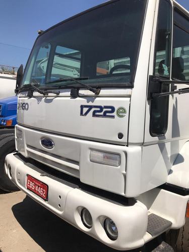 ford cargo 1722 e, ano 2008 truck carroceria