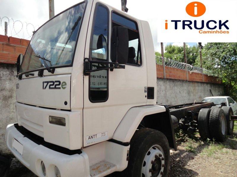 Ford Cargo 1722 E Truck 6x2 Ano 2007 08 Mecanica Muito Boa R