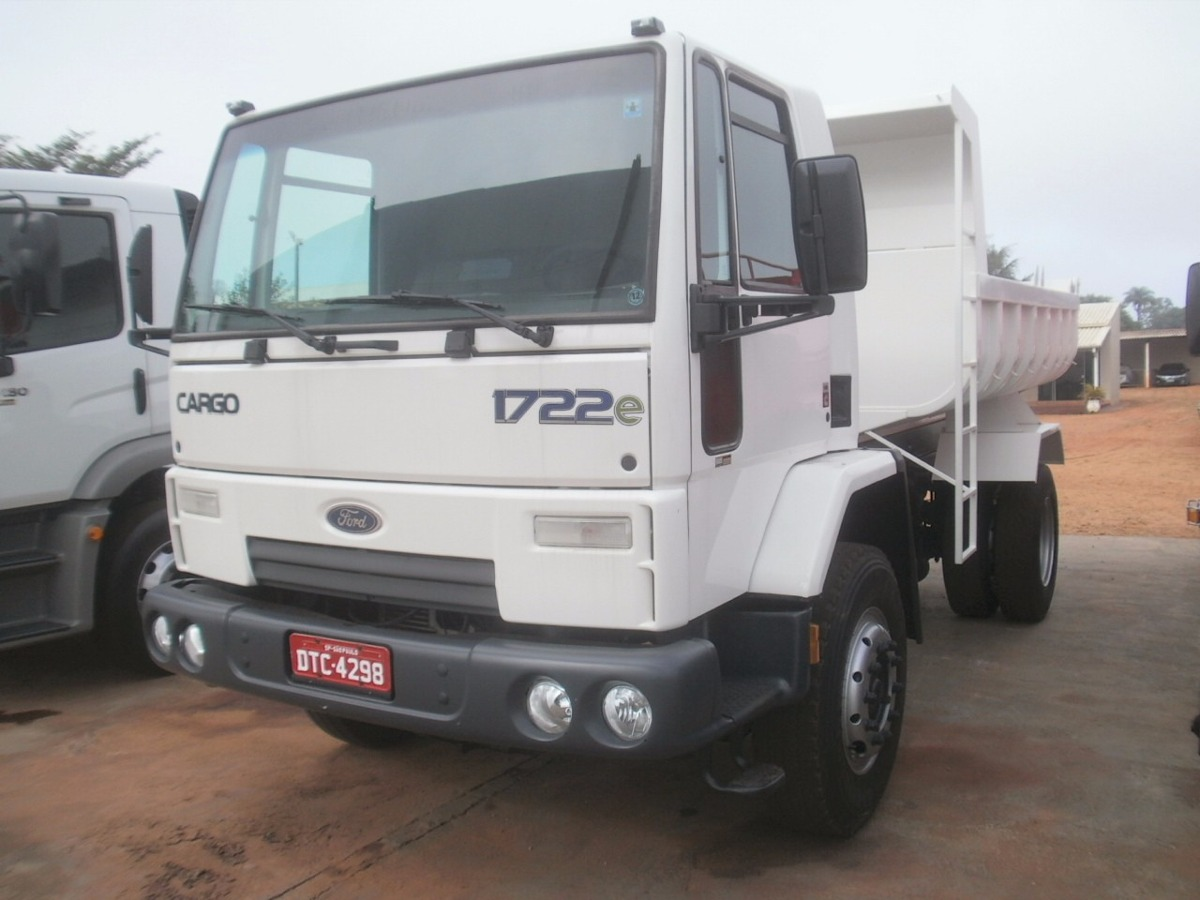 Ford Cargo 1722 Toco 2009 Cacamba 5mts Nova R 98 000 Em Mercado Libre