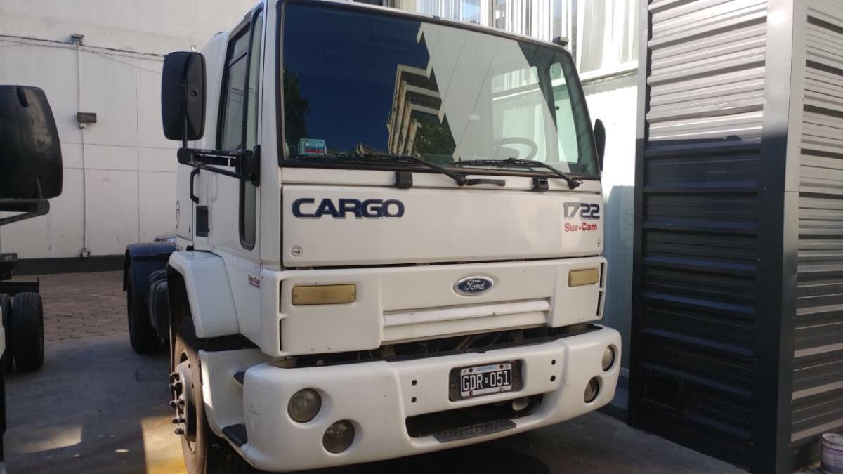 Ford Cargo 1722 Tractor Cabina Dormitorio Mecanico 600 000 En