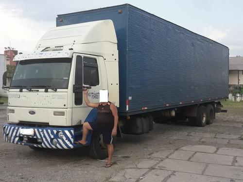ford cargo 1722 truck 2005 com baú de 11,60 metros