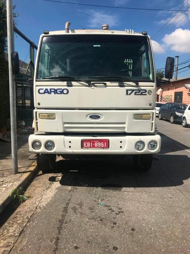ford cargo 1722  truck / 2008 equipado c compactador de lixo