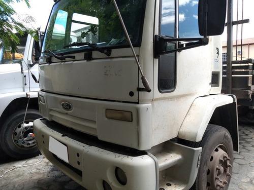 ford cargo 1722 truck 6x2 ano 2008/09 com carroceria.