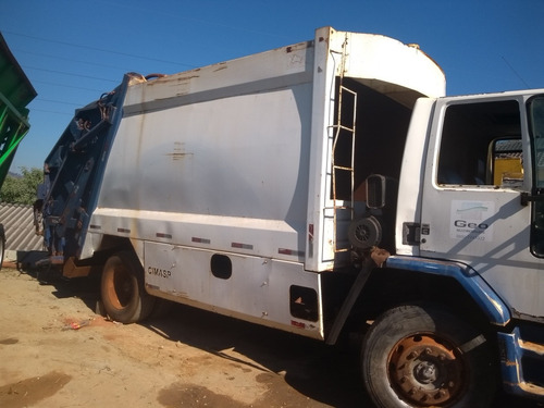 ford cargo 1722 vendo o compacdor de lixo 15m valor 6 mil
