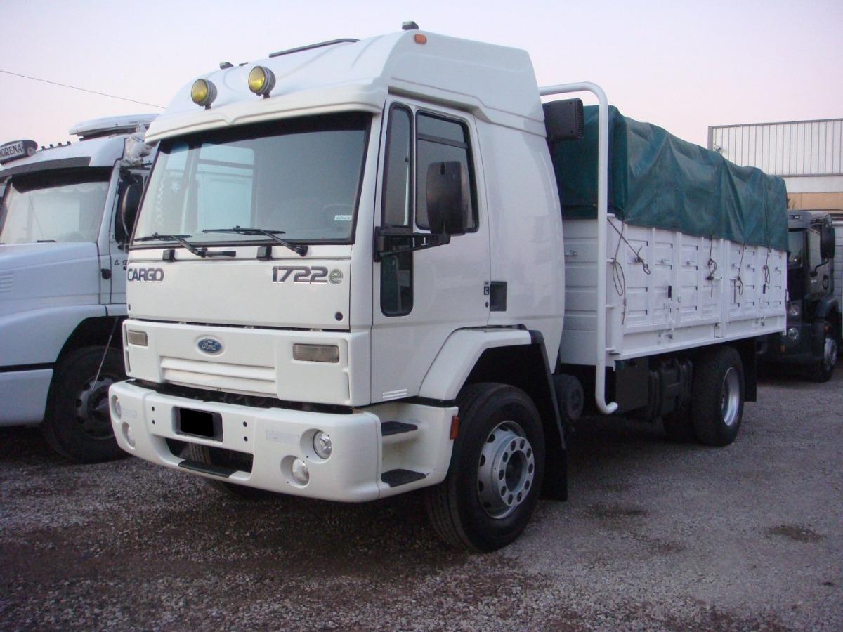 Ford Cargo 1722e 2011 Anticipo Financiacion 700 000 En Mercado