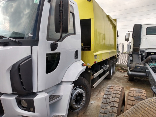 ford cargo 1722e compactador de lixo 115 mil reais a vista