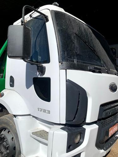 ford cargo 1723 ano 2013 poliguindaste duplo grimaldi