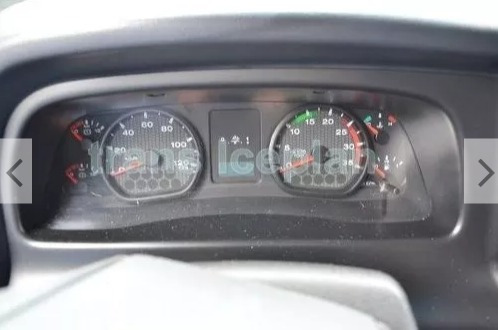 ford cargo 2324, refrigerado - 20° graus super novo