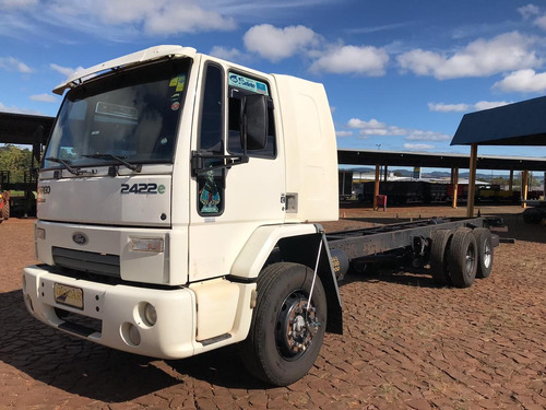 ford cargo 2422 6x2 maxtruck cabine leito