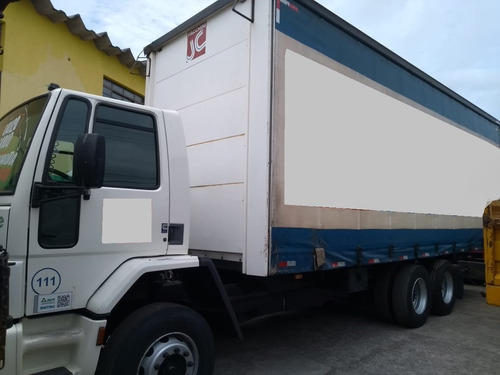 ford cargo 2422 6x2 sider padrão montadora ac/trocas