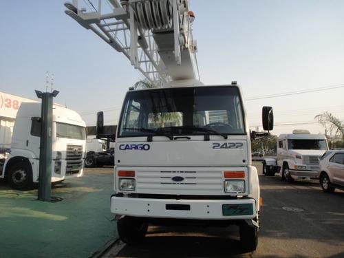 ford cargo 2422 8x2 2000, guincho, imk 30.5,plataforma, truc