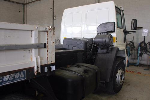 ford cargo 2422 8x2 carroceria com 8m km rodados - raridade
