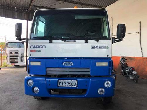 ford cargo 2422 ano 2010 com 347.000 kms