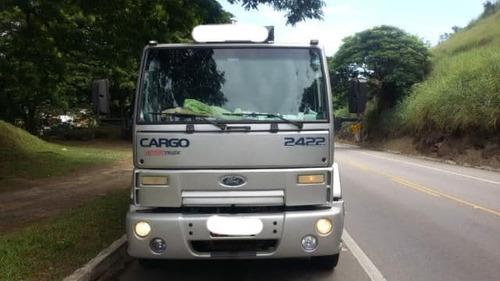 ford cargo 2422 carroceria ano 2010