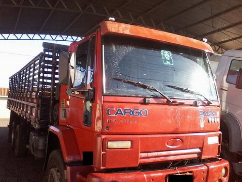 ford cargo 2422 vermelho 2007/2008