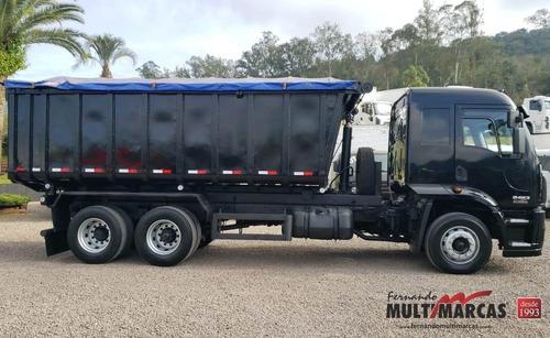 ford cargo 2423 leito - caçamba truck 6x2