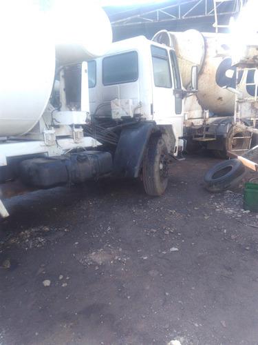 ford cargo 2425 com betoneira 10x 5.900 s/ entrada s/juros0%