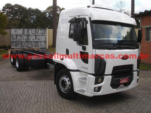 ford cargo 2428 2011/2012 truck 6x2 chassi 284.137km origina