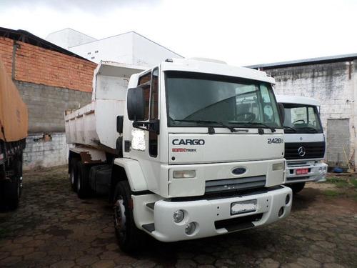 ford cargo 2428 basculante 6x2 = 1620 2429 vm 260 24280